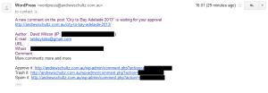 Disable WordPress Comment Notification Emails